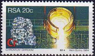 (原创)看邮票识南非:矿 - 六一儿童 - 译海拾蚌