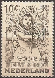 Netherlands 1949 Child Welfare 10c+5c.jpg