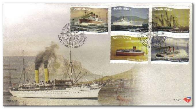 (原创)看邮票识南非40:桌山 - 六一儿童 - 译海拾蚌