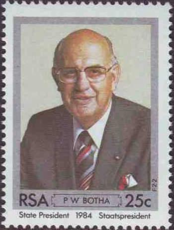 南非前总统博塔纪念邮票首日封 - 六一儿童 - 译海拾蚌