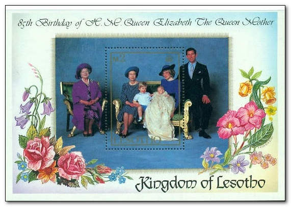 Lesotho 1985 Life and Times of Queen Elizabeth the Queen Mother MS.jpg