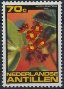 Netherlands Antilles 1981 Flowers b.jpg