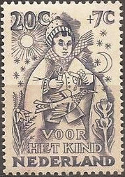 Netherlands 1949 Child Welfare 20c+7c.jpg