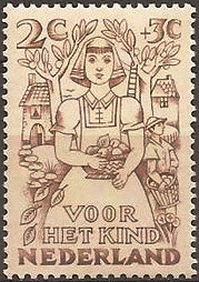 Netherlands 1949 Child Welfare 2c+3c.jpg