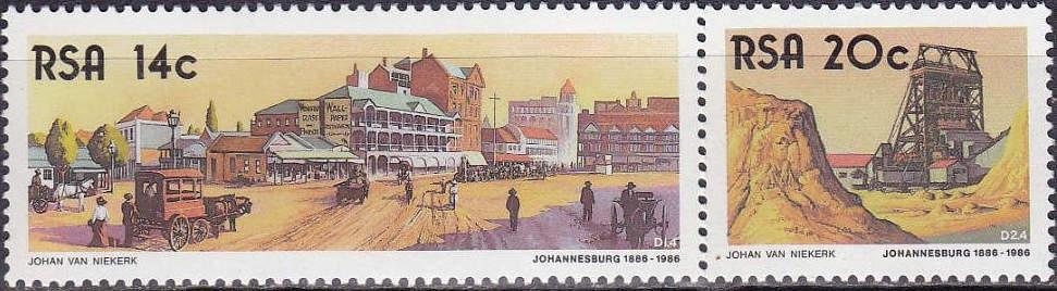 (原创)看邮票识南非10:矿物2——黄金 - 六一儿童 - 译海拾蚌