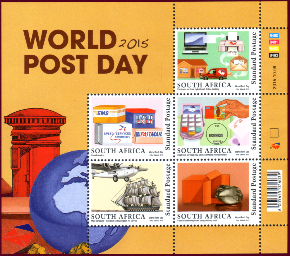 (原创)看邮票识南非49: 不可思议--世界最大钻石竟然用普通挂号邮寄 - 六一儿童 - 译海拾蚌