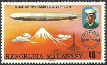 Malagasy Republic 1976 75th anniversary of the Zeppelin a.jpg