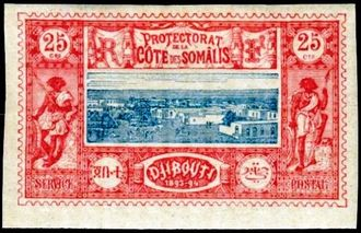 Djibouti 1894-1902 Definitives - View of the City g.jpg