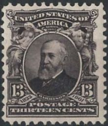 United States of America 1902 - 1903 Famous People - Inscribed Series 1902 13c.jpg