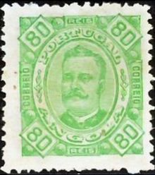 Angola 1894 Definitives - King Carlos I 80r.jpg