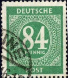 Germany-Allied Occ 1946 American, British & Russian Zone Definitives 84pf.jpg