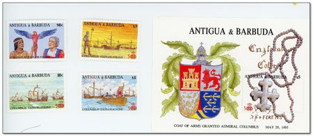 Antigua and Barbuda 1988 Columbus Discovers New World (I) fdc.jpg