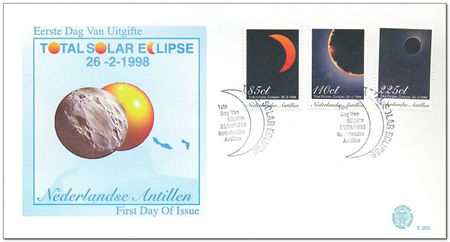 Netherlands Antilles 1998 Total Eclipse of the Sun fdc.jpg