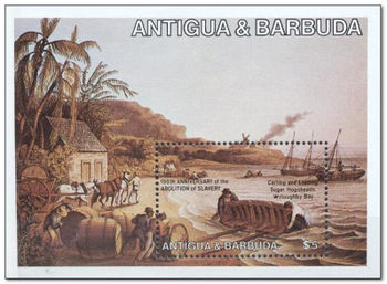 Antigua and Barbuda 1984 Abolition of Slavery ms.jpg