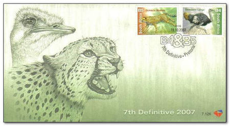 South Africa 2007 Flora and Fauna fdc.jpg