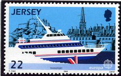 Jersey 1988 Europa. Transport and Communications 22p.jpg
