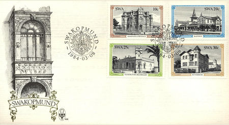 South West Africa 1984 Historic Buildings fdc.jpg