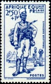 French Equatorial Africa 1940 Colonial Army Uniforms c.jpg