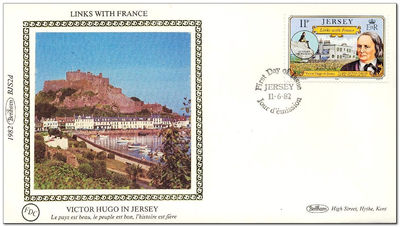 Jersey 1982 Links with France 2FDC.jpg