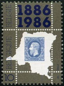 Belgium 1986 100th Anniv of First Stamp of Congo a.jpg