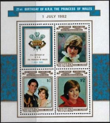 Aitutaki 1982 Birthday of Princess Diana of Wales ms.jpg