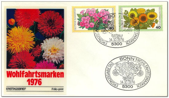 Germany-West 1976 - Garden Flowers fdc.jpg