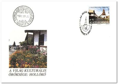 Hungary 1992 UNESCO - World Heritage Site fdc.jpg