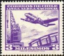 Chile 1960 Airmail - Aircrafts 3m.jpg