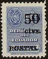 Ecuador 1951 Consular Service Stamps Overprinted for Postal Use g.jpg