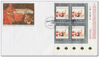 Canada 1992 Masterpieces of Canadian Art fdc.jpg