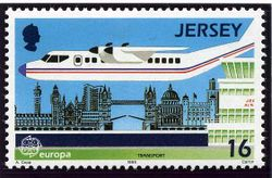 Jersey 1988 Europa. Transport and Communications 16p.jpg