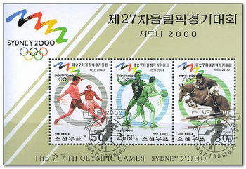 Korea (North) 1998 Olympic Games Sydney (2000) aa.jpg