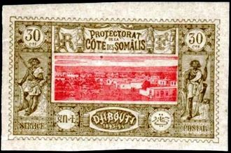 Djibouti 1894-1902 Definitives - View of the City h.jpg