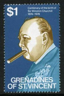 Grenadines of St Vincent 1974 Churchill Birth Centenary d.jpg