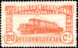 Spain 1930 Express Mail - International Railway Congress 20c.jpg