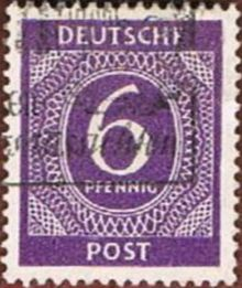 Germany-Allied Occ 1946 American, British & Russian Zone Definitives 6pf.jpg