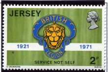 Jersey 1971 Royal British Legion Anniversary 2p.jpg
