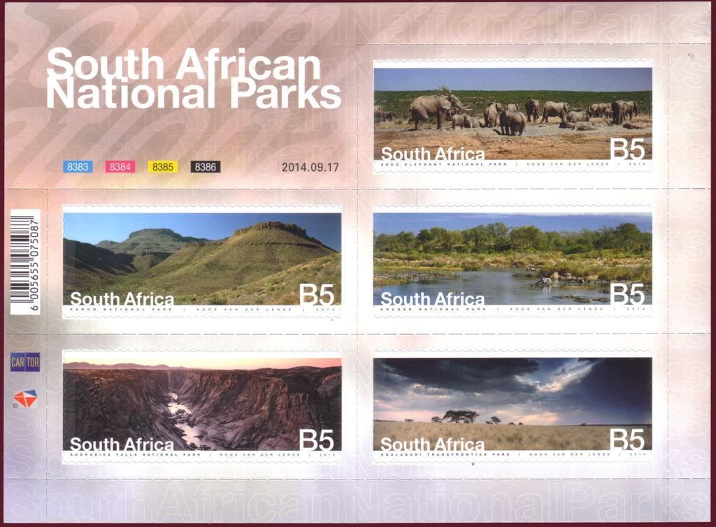 (原创)看邮票识南非48:国家公园 - 六一儿童 - 译海拾蚌