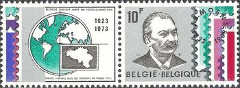 Belgium 1973 Belgian Stamp Dealers Association 10F.jpg