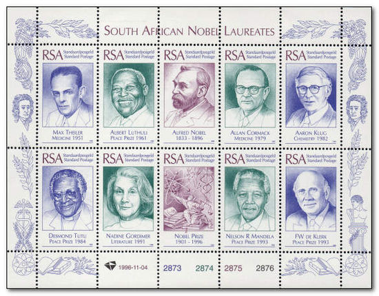 South Africa 1996 Nobel Laureates 1a.jpg