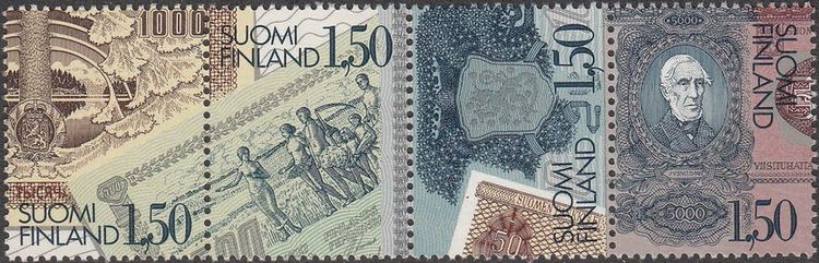 Finland 1985 Finnish Banknote Printing - Centenary a.jpg