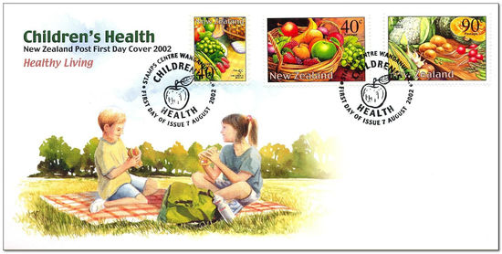 New Zealand 2002 Healthy Eating fdc.jpg