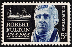 United States of America 1965 Robert Fulton 5¢.jpg