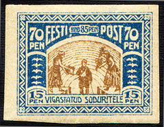 Estonia 1920 Charity Stamps - Disabled Soldiers 70+15.jpg