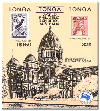 Tonga 1984 Ausipex Stamp Exhibition ms.jpg