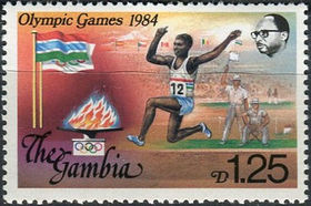 Gambia 1984 Summer Olympic Games 2 d.jpg