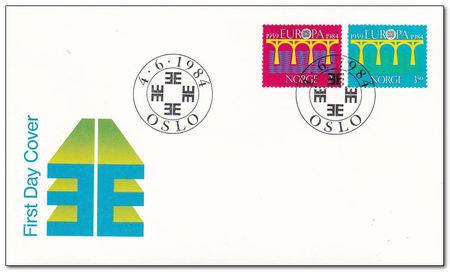 Norway 1984 Europa fdc.jpg