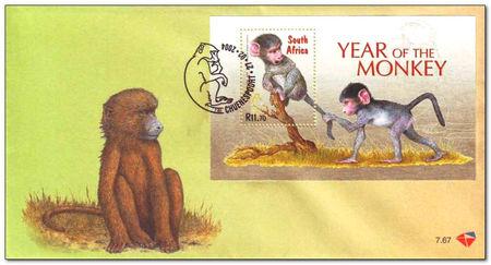 (原创)南非众猴迎猴年 - 六一儿童 - 译海拾蚌