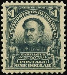 United States of America 1902 - 1903 Famous People - Inscribed Series 1902 1$.jpg