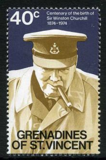 Grenadines of St Vincent 1974 Churchill Birth Centenary b.jpg